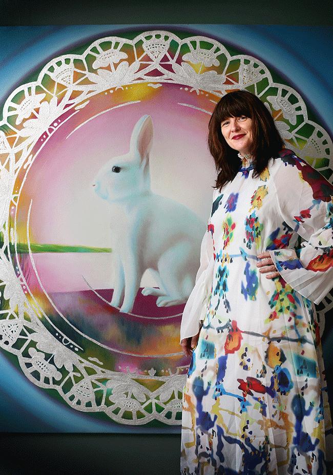 Photo of artist Amanda Parer
