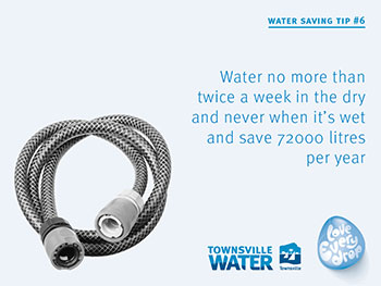 Water saving tip 6