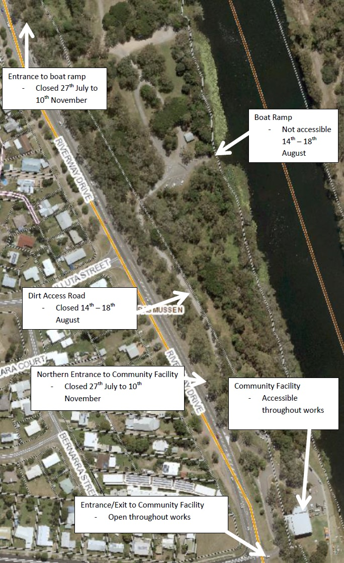 Boating Fishing Townsville City Council - Boat accessibility map us