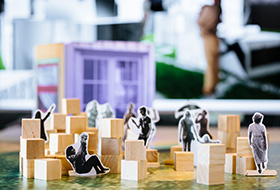 Artwork simulation of City Blocks by COUNTERPOINT ARCHITECTURE & DIGIMEN