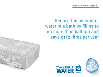 Water saving tip 1