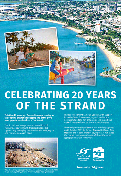 The Strand 20th Birthday poster