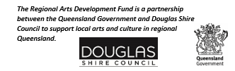 The Regional Arts Development Fund is a partnership between the Queensland Government and Douglas Shire Council to support local arts and culture in regional Queensland.
