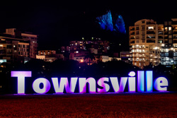 Halo - Blue Hill & Townsville Sign
