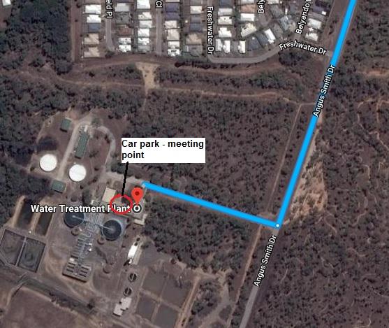Douglas Water Treatment Plant Map