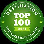 Top 100 Destination 2021 - Sustainability Stories