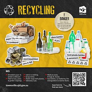 Bin Trail 2021 - Recycling Sticker