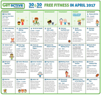 30 Ways in 30 Days Calendar 2017