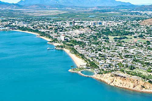 Aerial of The Strand