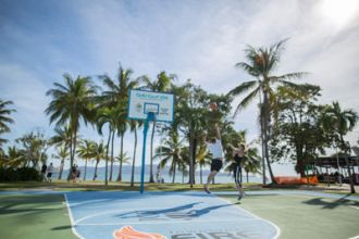 Half basketball court – Strand Park